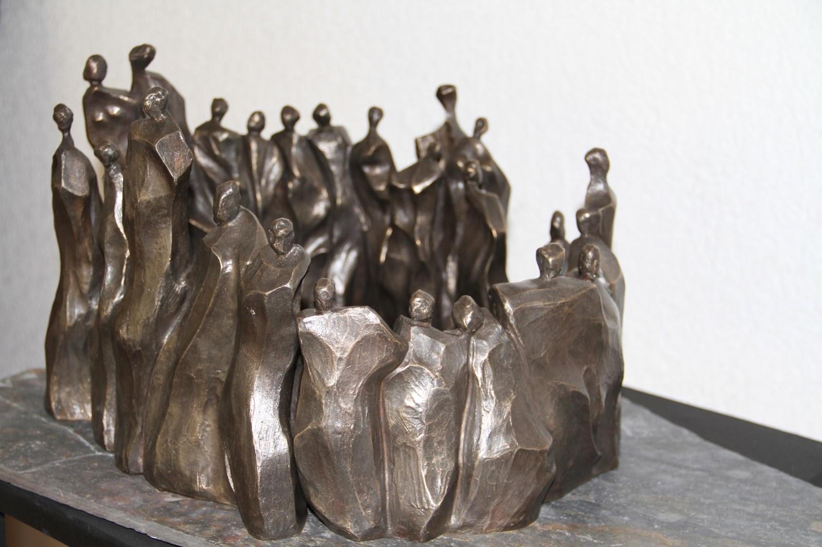 Aquelarre de amor - Escultura, Nour Kuri