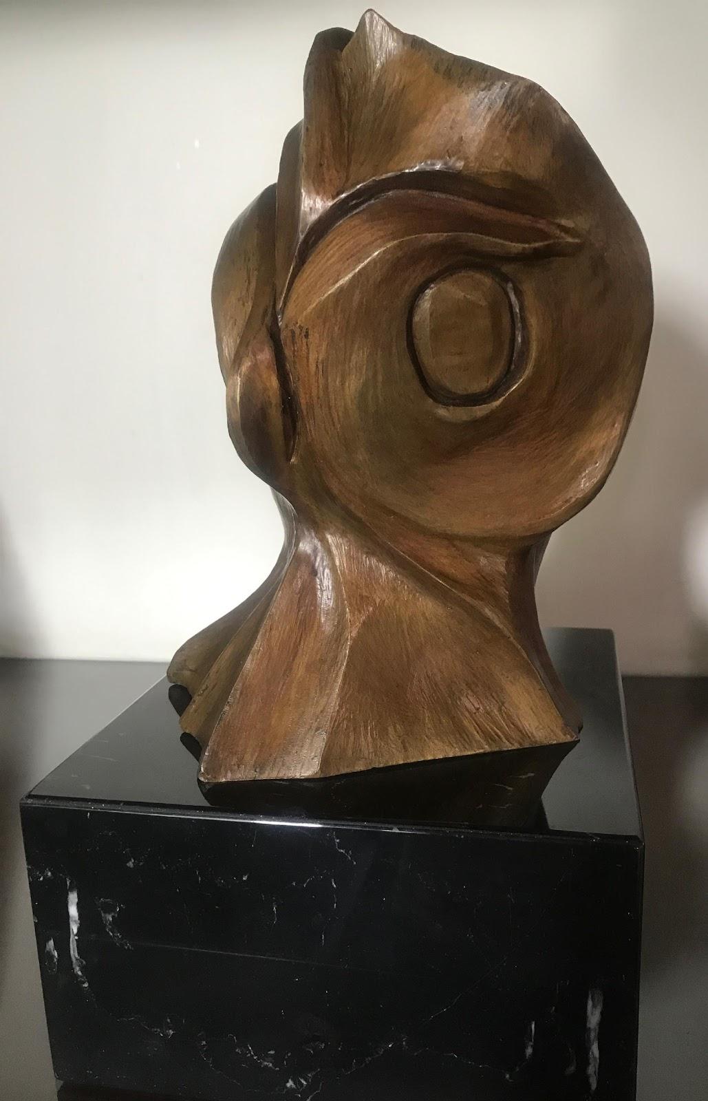 Mi buho - Escultura, Nour Kuri