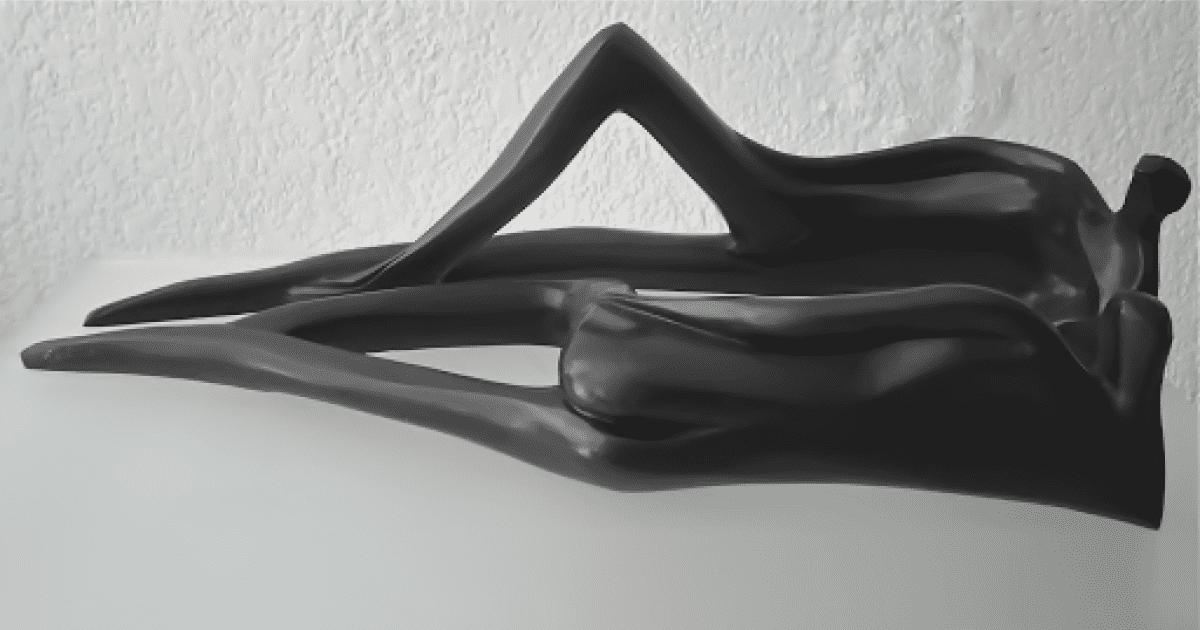 Parlons - Escultura, Nour Kuri
