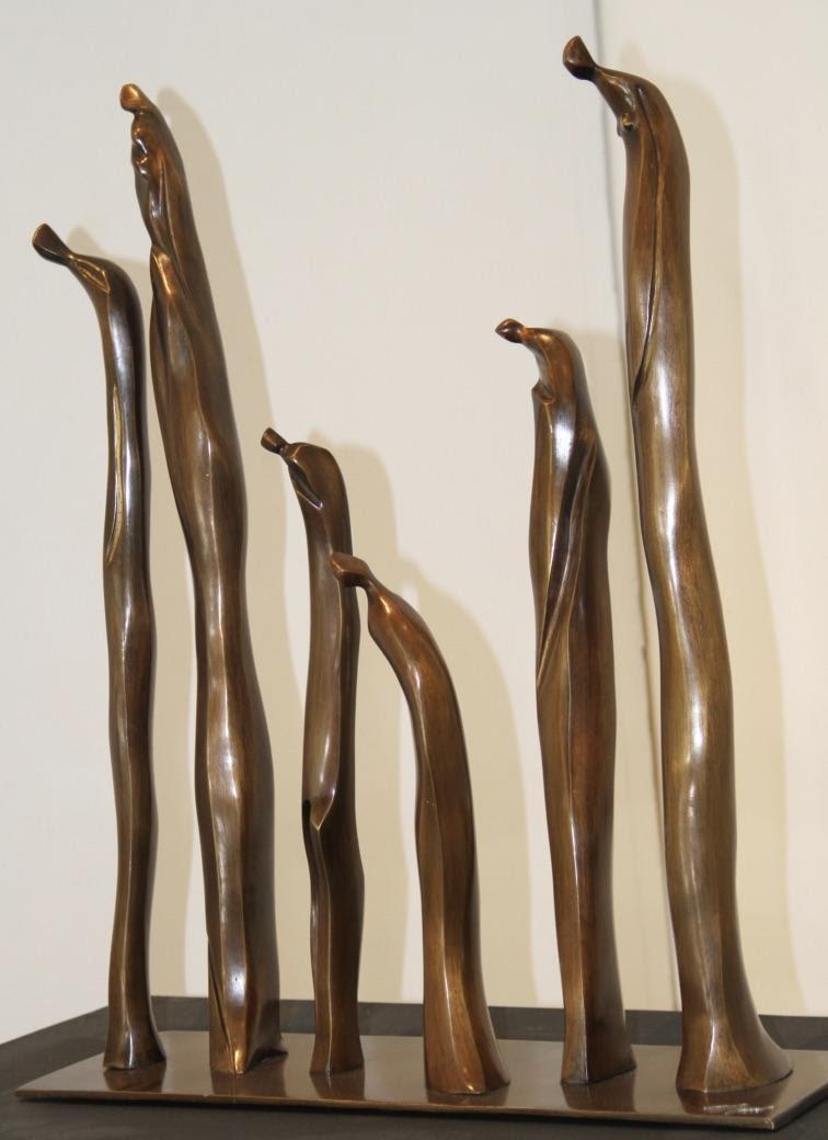Procesión - Escultura, Nour Kuri