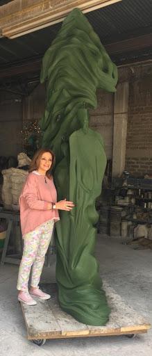 Tras un sueño - Escultura, Nour Kuri