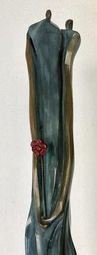 Una flor - Escultura, Nour Kuri